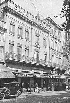 Groenplaats Café Suisse, 1928, bron GVA