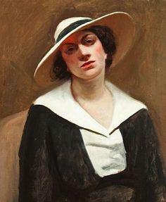 Edward Hopper, Portrait of Alta Hilsdale...