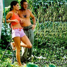 A #flipflop wearing Ali MacGraw w/ Steve McQueen on break while filming Papillon on location in Jamaica. #1972 #throwback