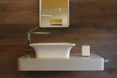 A corner of our I spa corner by Gessi