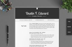 Check out All in One Elegant Resume CV Pack by SNIPESCIENTIST on Creative Market