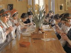 Anders Zorn The Sewing Circle