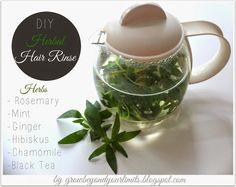 DIY Hair Care Rinse ~ Grow Beyond Your Limits: DIY: Herbal Hair Rinse Recipe