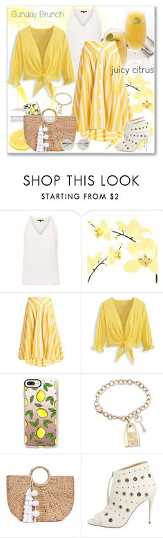 """""""citrus"""" by sheryl-lee ❤ liked on Polyvore featuring Kobi Halperin, Thierry Colson, Casetify, Ross-Simons, JADE TRIBE, Jerome C. Rousseau and La Perla"""