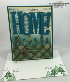 Stamps-N-Lingers.  Large Letters Framelits. Outdoor Adventure Thinlits, Always an Adventure stamp set.  Live, Love, Grow stamp set.  Warmth & Cheer DSP. https://stampsnlingers.com/2016/09/27/stampin-up-large-letters-outdoor-adventure/