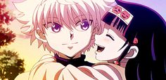 Hunter X Hunter. Killua and Alluka. I want a big bro like him ❤❤ Killua, Hisoka, Alluka Zoldyck, Manga Anime, Me Anime, Anime Life, Kawaii Anime, Anime Guys, Anime Art
