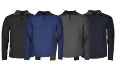Groupon - Veste polaire homme Pierre Cardin zippée, coloris et taille au choix à…