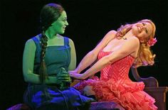 Eden Espinosa and Megan Hilty - Wicked. Totally not as good as Jenny and Hayley BUT good enough for Holly :D