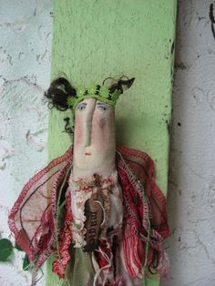 The Magic Fey by Baggaraggs on Etsy