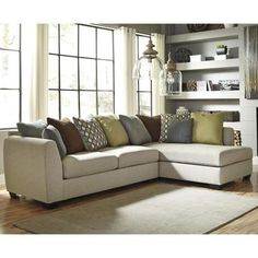Casheral 2-Piece Sectional and Chair | Nebraska Furniture Mart