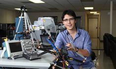 Inventor de drones domésticos está no Brasil para uma conferência - Jornal O Globo