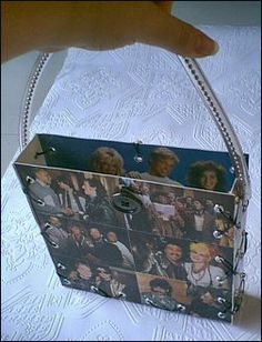 *WE ARE THE WORLD* record album purse - PURSES, BAGS, WALLETS
