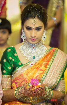 Heavy bridal diamond necklace