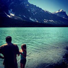 Mistaya Lake - Banff, Alberta
