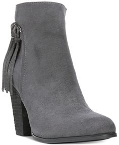 BABA Grey Ankle Boots Shoes from