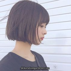 33 Hottest A-Line Bob Haircuts You'll Want to Try in 2019 - Style My Hairs Line Bob Haircut, Bob Haircut With Bangs, Bob Hairstyles For Thick, Choppy Bob Hairstyles, Short Hair Cuts, Short Hair Styles, Blow Hair, Mullet Hairstyle, Bobs For Thin Hair