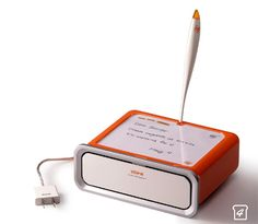 """notes toaster"" - write a note and burn it to your toast..."