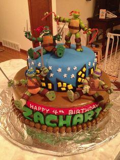 My sons TMNT cake!