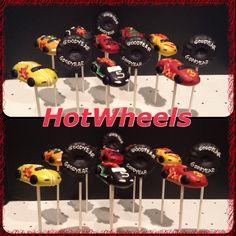 Hotwheels cake pops