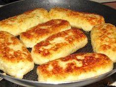 Serowe paluszki na kolację Serowe paluszki na kolację 150 g gotowanych ziemniaków 150 g sera białego 1 jajko 3 łyżki mąki sól...