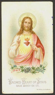 Sacred Heart of Jesus Catholic Beliefs, Catholic Art, Roman Catholic, Religious Art, Christianity, Jesus Faith, Heart Of Jesus, Jesus Christ, Religious Pictures