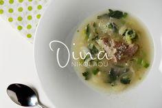 ΧΟΙΡΙΝΟ ΠΡΑΣΟΣΕΛΙΝΟ Soup, Ethnic Recipes, Soups