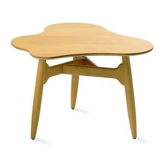 A table is a central piece of the interior in almost every room of the house. Large tables invite people to spend time together, and small tables offer a base for objects and plants. Nordic Furniture, Table Furniture, Home Furniture, Couch Table, Sofa Tables, Nordic Interior Design, Wood Stone, Coffee Table Design, Scandinavian Design