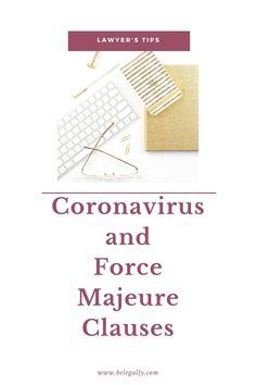 This article addresses the effects of coronavirus on contractual force majeure clauses and Other Contractual Issues. Business Tips, Online Business, Bear The Burden, Starting A Business, Blog Tips, Online Marketing, Blogging, Entrepreneur, This Or That Questions