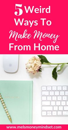 There are lots of ways to make money from home, but the more I research about them, the more I realise that some of them are just. These are my top 5 picks for weird (and wonderful) ways to make money from home. Earn Money From Home, Earn Money Online, Make Money Blogging, Online Jobs, Money Saving Tips, Way To Make Money, Money Hacks, Money Fast, Big Money
