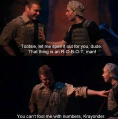 I love Tootsie! He's probably the cutest Starkid character ever.