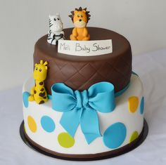 Gâteau baby shower s