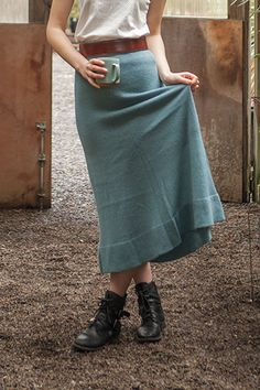 Poetic Skirt - Knitting Patterns and Crochet Patterns from KnitPicks.com by Edited by Knit Picks Staff