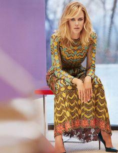 nicole kidman photo shoot7 Spring Fling: Nicole Kidman Wears Pastels for InStyle by Greg Kadel
