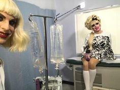 Drag Queen Race, Katya And Trixie Mattel, I Am A Queen, Baby Queen, Katya Zamolodchikova, Look Girl, Rupaul Drag, Straight Guys, Fashion Art