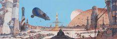 naves concepto: Las obras seleccionadas por Moebius