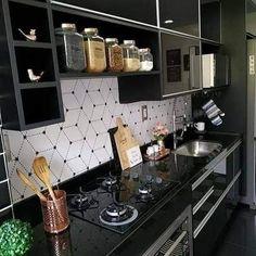 Kitchen Room Design, Home Decor Kitchen, Interior Design Kitchen, Home Decor Furniture, Kitchen Furniture, Homer Decor, Kitchen Modular, Diy Kitchen Storage, Kitchen Wallpaper