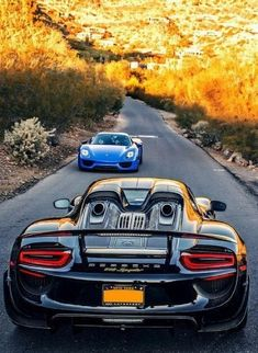 Sports cars - PORSCHE 918 Spyder Nowadays, they have got extremely comfortable, lavish and Sports Car Photos, New Sports Cars, Super Sport Cars, Exotic Sports Cars, Exotic Cars, Porsche 918 Spyder, Porsche Panamera, Porsche Sports Car, Porsche Cars