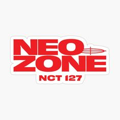 'Neo Zone' Sticker by nurfzr Kpop Stickers, Tumblr Stickers, Printable Stickers, Cute Stickers, Logo Sticker, Sticker Design, Empathy Quotes, Overlays, Logos Retro