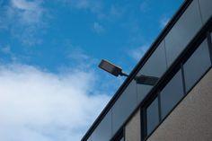 Iluminación pabellón Taralux con modelo Empire LED. Luminaria #iluminación vial #LED.