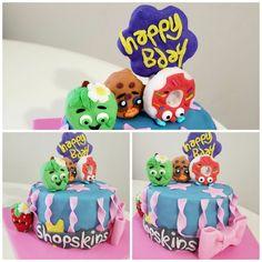 Shopskins cake