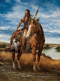 Cheyenne Sentinal by Andrew Knez kp