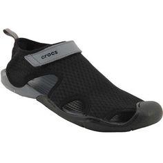 2a9a40f206a7d5 Crocs Swiftwater Mesh Water Sandals - Womens Black Rogan s Shoes