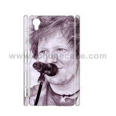 Sony xperia x Durable Hard Case Design With Ed Sheeran