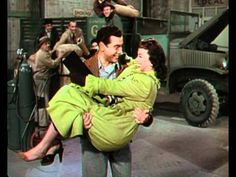 "Mario Lanza/ Kathryn Grayson duet-""Thine Alone"" from ""Eileen""."