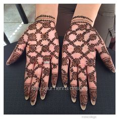 Grooms lovely sister got her hands full of lattice work 😊.Inspired by Neeta Di 😊💕with some slight variations.