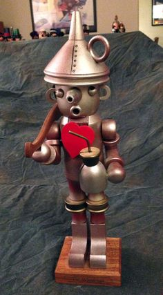 Tin Man Woodman nutcracker Christian Ulbricht Limited 0/141 Wizard of Oz