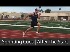 After the start, what cues should you use? While pushing the ground away from you works well during the start, some people may have issues with acceleration . Sprinter Workout, Track Workout, Track And Field, Coaching, Workouts, Thighs, Sports, Youtube, Training