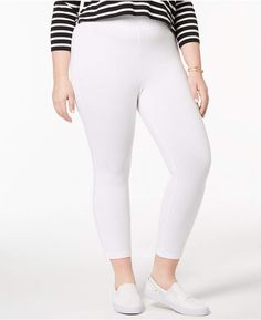 ddfdfe34e5c49 16 Best white capri outfits images in 2016 | Casual outfits, White ...