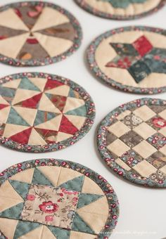 "Patchwork ""pancakes» / Quilted «pancakes» - evening meetings"
