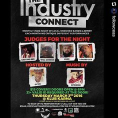 #Repost @followceas with @repostapp  DO REMEMBER THIS THURSDAY MARCH 3 WE AT THAT KARMA KLUB NYC COME SHOWCASE YOUR TALENTS WHATEVER THEY ARE COME NETWORK TALK TO PEOPLE A PLACE TO SHOW PEOPLE WHAT YOU GOT INSTEAD OF TELLING THEM MEET ME THERE BRING A LIGHTER TOO #WHATSTHENAMEOFTHESHOW #MONDAYS10PM #DESERTSTORMRADIO #DESERTSTORMBOYZ #THEMORONHOUR #SIRMORON #WHATSTHATSONG #SATURDAY8PM #7480 #DSRCEO #SMOKEBREAK #SMOKETHEALBUM #QGTM #LITBITCH #NOTINTHEPLAN #instagood #dj #djs Rap #BattleDjs…